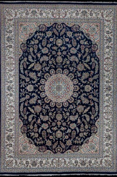 3522-iran nain wool silk